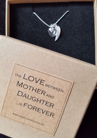 Mother Daughter Angel Wing Necklace